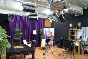 Set de televisión de La Sombra Producciones